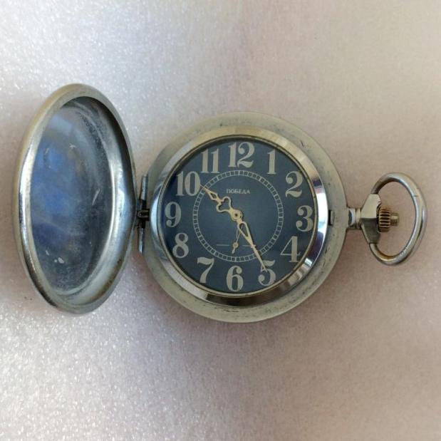 Карманные часы Победа Буйвол