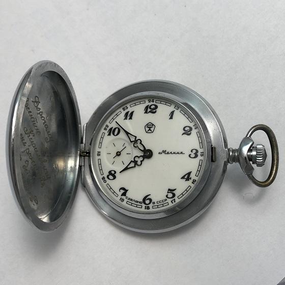 Командирские часы Восток Амфибия черные