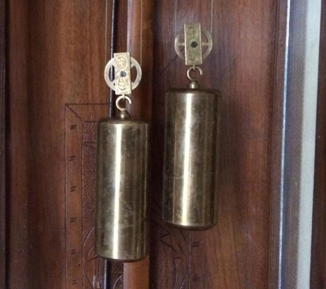 настенные гиревые австрийские часы регулятор