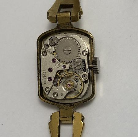Карманные часы Молния СССР цветы экспортные