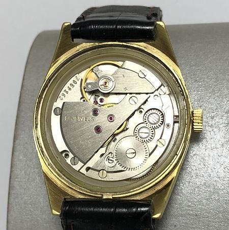 Мужские наручные часы Cornavin (Ракета) СССР позолоченные