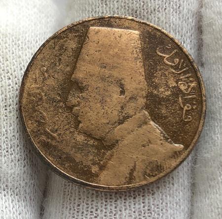 Интересная монета Египта