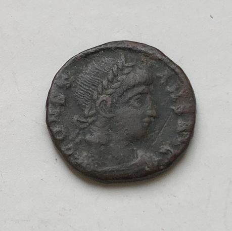 Редкая монета Древнего Рима Константина I