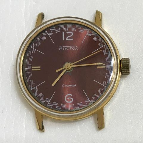 Мужские наручные часы Восток СССР 17 камней в шашечку