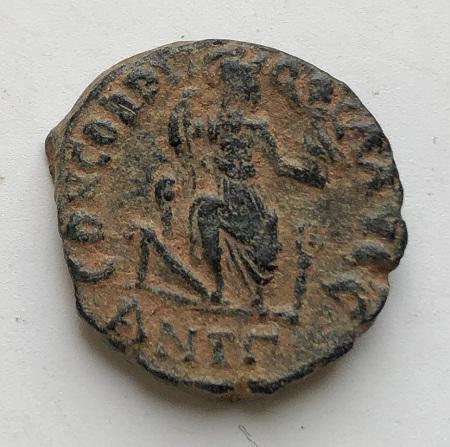 Монета древний Рим Феодосий II