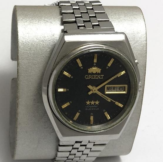 Наручные мужские часы Луч СССР позолоченные большие