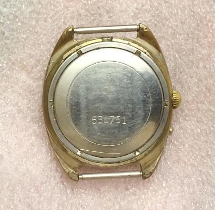 Часы наручные мужские Слава 26 камней позолоченые