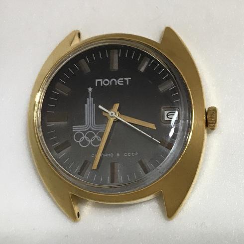 Наручные часы Полет СССР 17 камней олимпийские