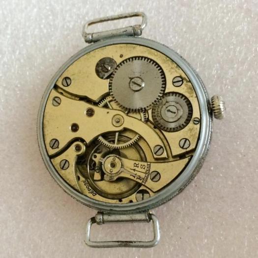 Старинные швейцарские наручные часы В. Габю