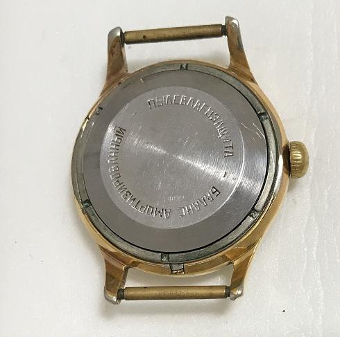 наручные Часы Orient три звезды желтый корпус