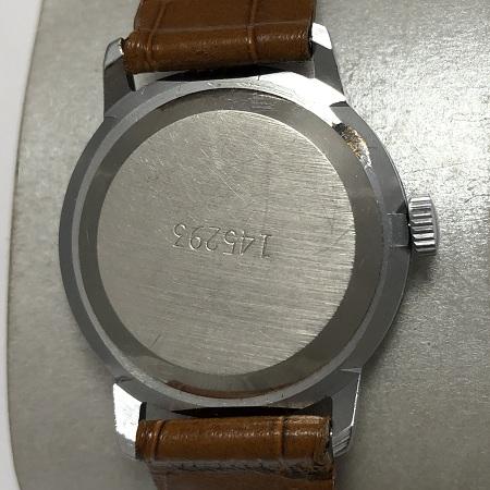 наручные часы Ракета СССР с узором в позолоте