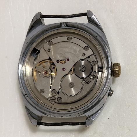 Мужские наручные часы полет СССР 23 камня зеленый циферблат