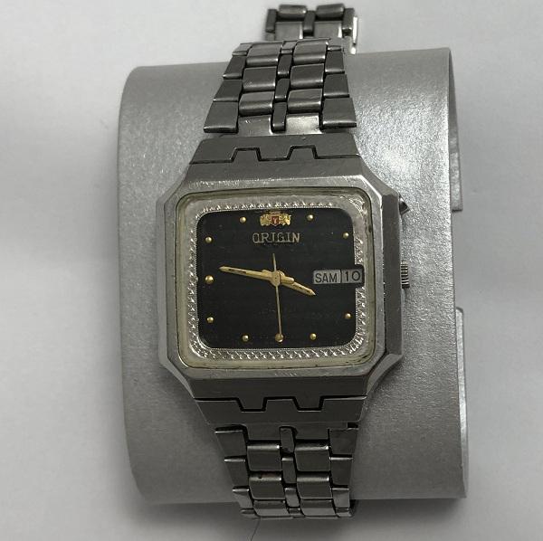 Мужские наручные часы Orient фреза черные