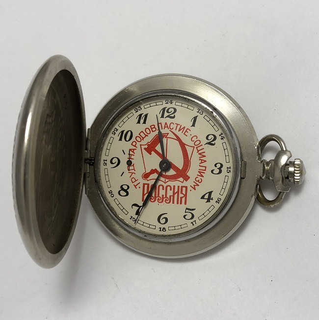 наручные часы Полет СССР 23 камня тонкие черные