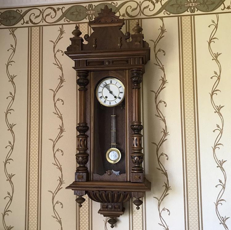 Старинные настенные часы Lenzkirch