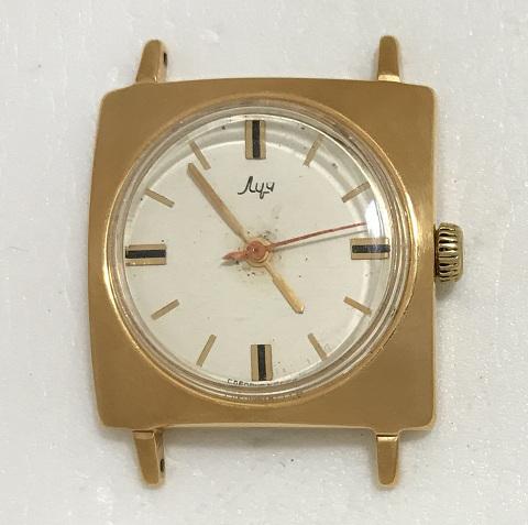Мужские наручные часы Луч СССР компактные