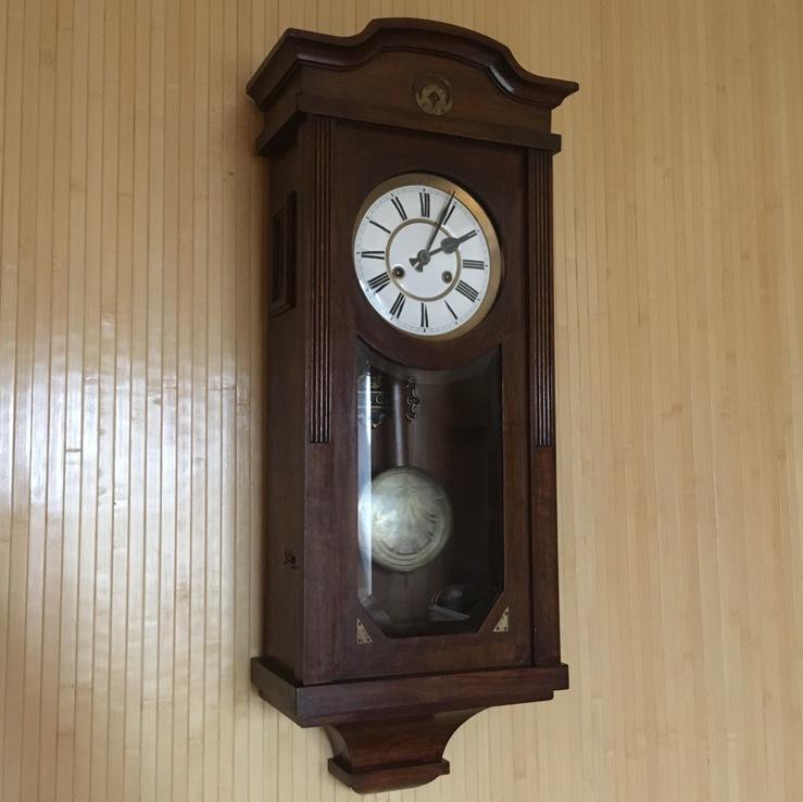 Старинные настенные часы Gustav Becker 1907 год