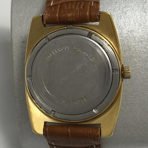 Мужские наручные советские часы Восток позолоченные редкие