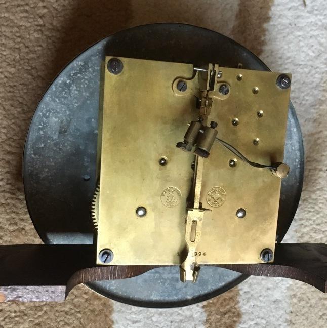 Старинные настенные часы Gustav Becker около ста лет с уникальным боем