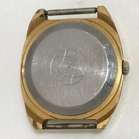 Мужские наручные советские часы Ракета телевизор красные