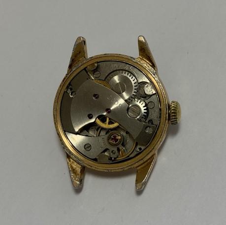 наручные часы Заря СССР большие позолоченные