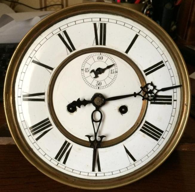 настенные часы Gustav Becker гиревые