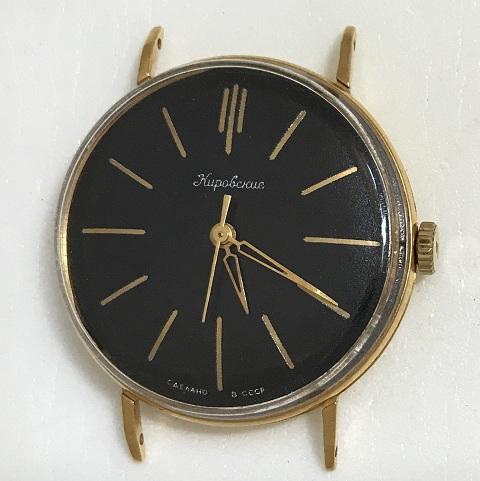Мужские наручные часы Ракета СССР 2603 в позолоте