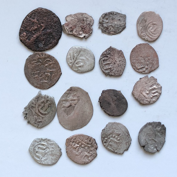 Комплект старых крымских монет гиреек
