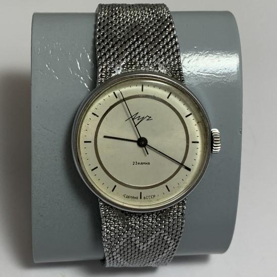 Мужские наручные часы Слава СССР автоподзавод черные