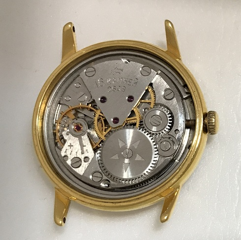 Наручные мужские часы Ракета Балтика СССР 2609 позолоченные