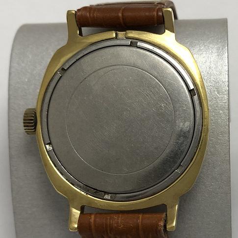 Наручные мужские часы Слава СССР 40 лет победы в позолоте
