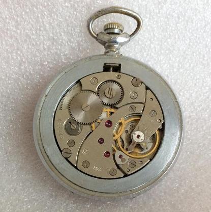 Карманные часы Молния СССР 300 лет российскому флоту