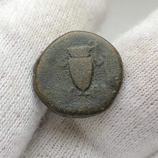 Древнегреческая монета Эолиды