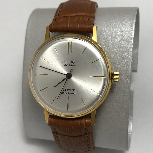 Мужские наручные часы Полет СССР редкие в позолоте