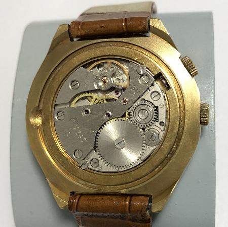 наручные часы Космос СССР автомат в позолоте