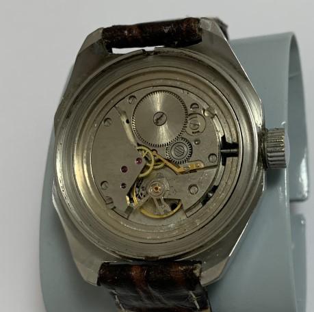 Наручные мужские часы Слава косая СССР в редком исполнении