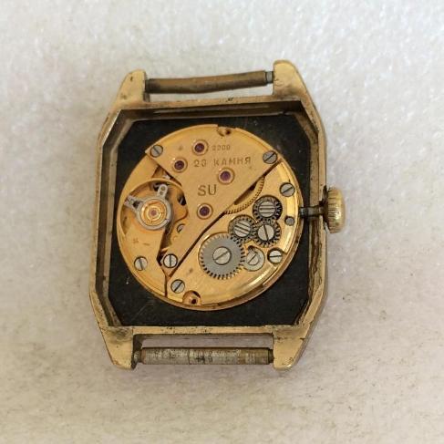наручные часы Луч СССР 2209 черные