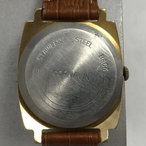 Мужские наручные часы Cornavin 21 камень СССР позолоченные
