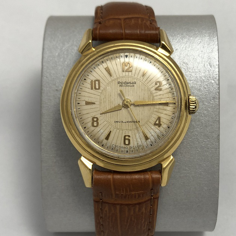 Мужские наручные часы Родина эпохи СССР
