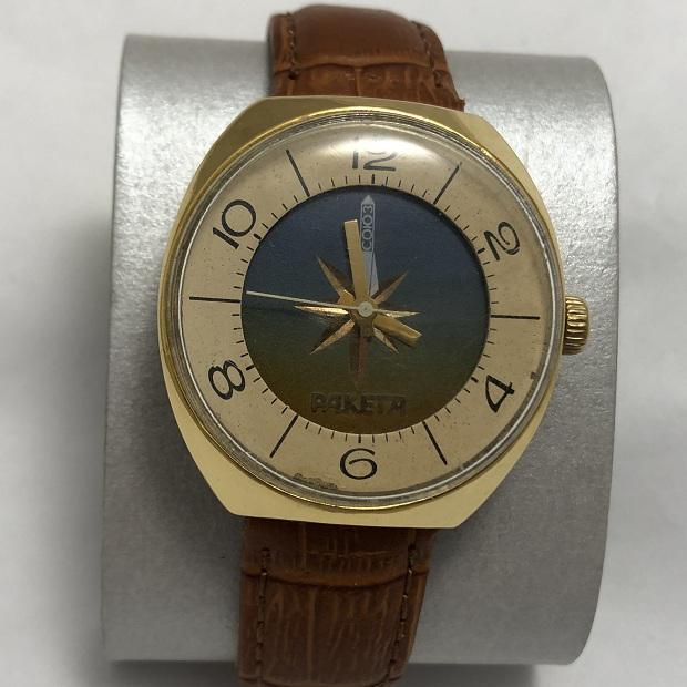Мужские наручные часы Ракета СССР шайба AU 10