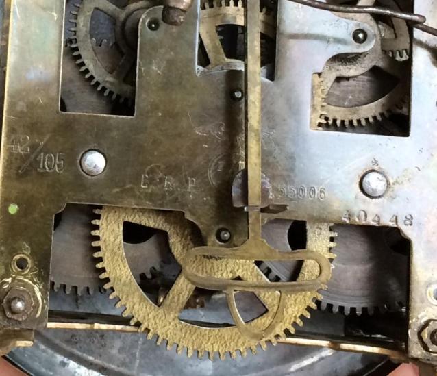 Старинные настенные часы FMS - около 100 лет