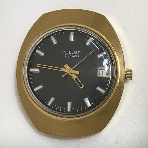 часы Амфибия сектоная СССР  бочка