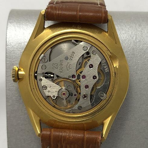 Мужские наручные часы Seconda СССР 23 камня позолота