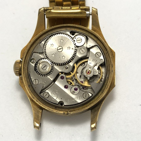 Мужские наручные часы Восток СССР позолоченные AU 20