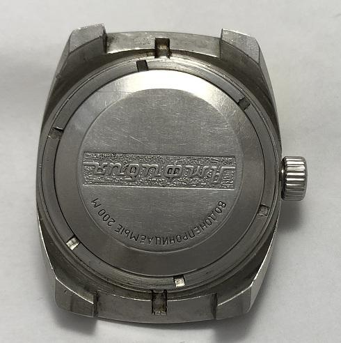командирские часы амфибия Альбатрос из СССР
