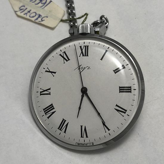 Карманные часы в редком исполнении