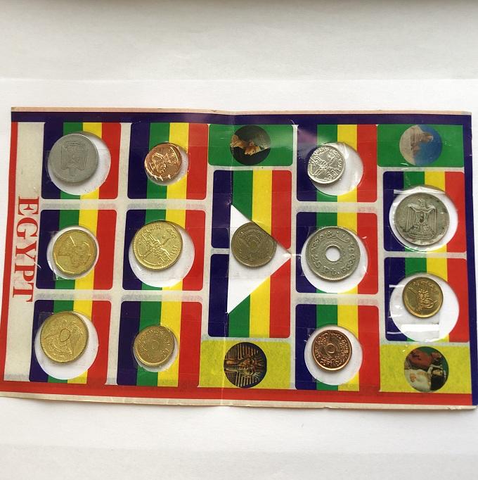 Отличный набор монет Египта