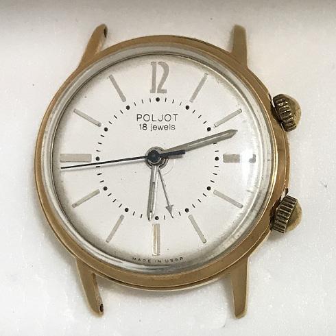 Наручные мужские часы Полет СССР будильник