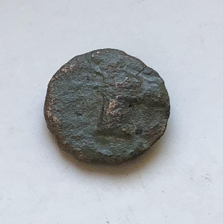 Монета Древней Греции Эолида