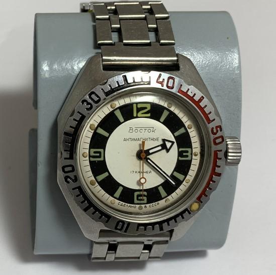 Мужские наручные советские часы Полет в позолоте